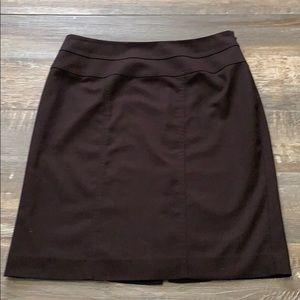 🌻3/20 AK Anne Klein brown skirt